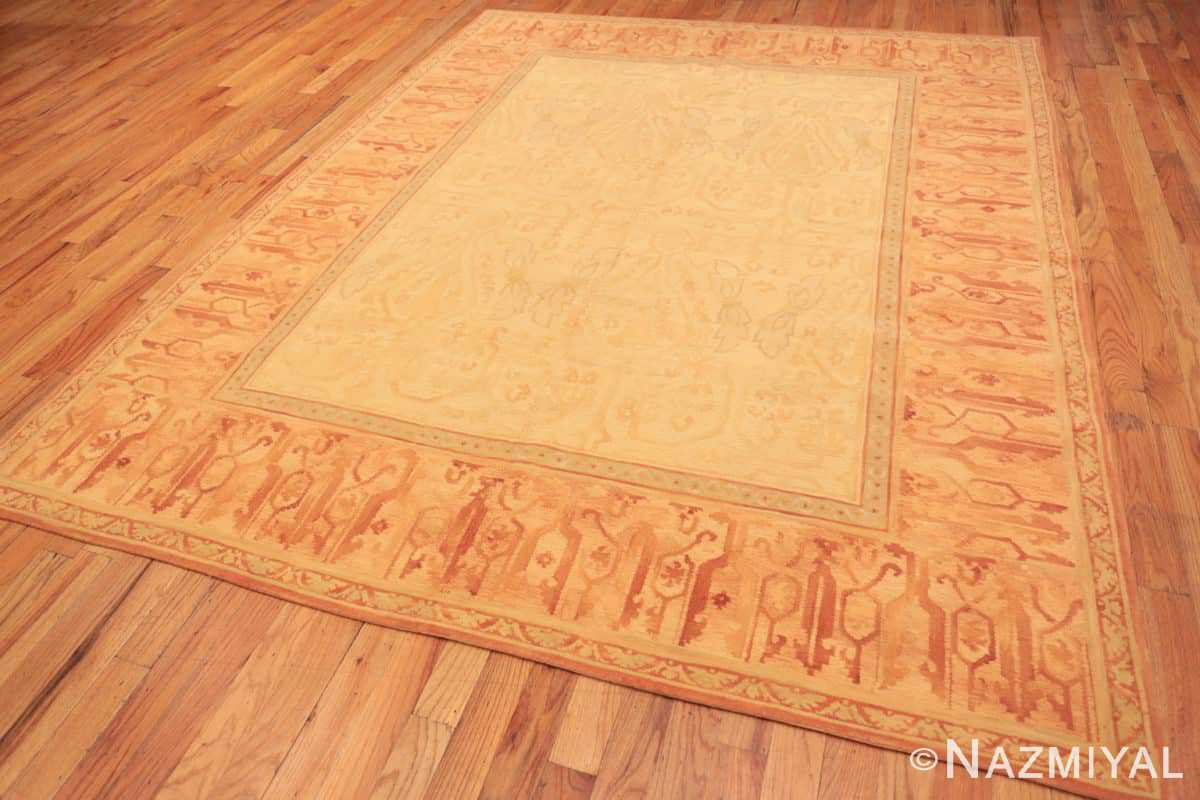Full Modern French design Chinese savonnerie rug 44700 by Nazmiyal