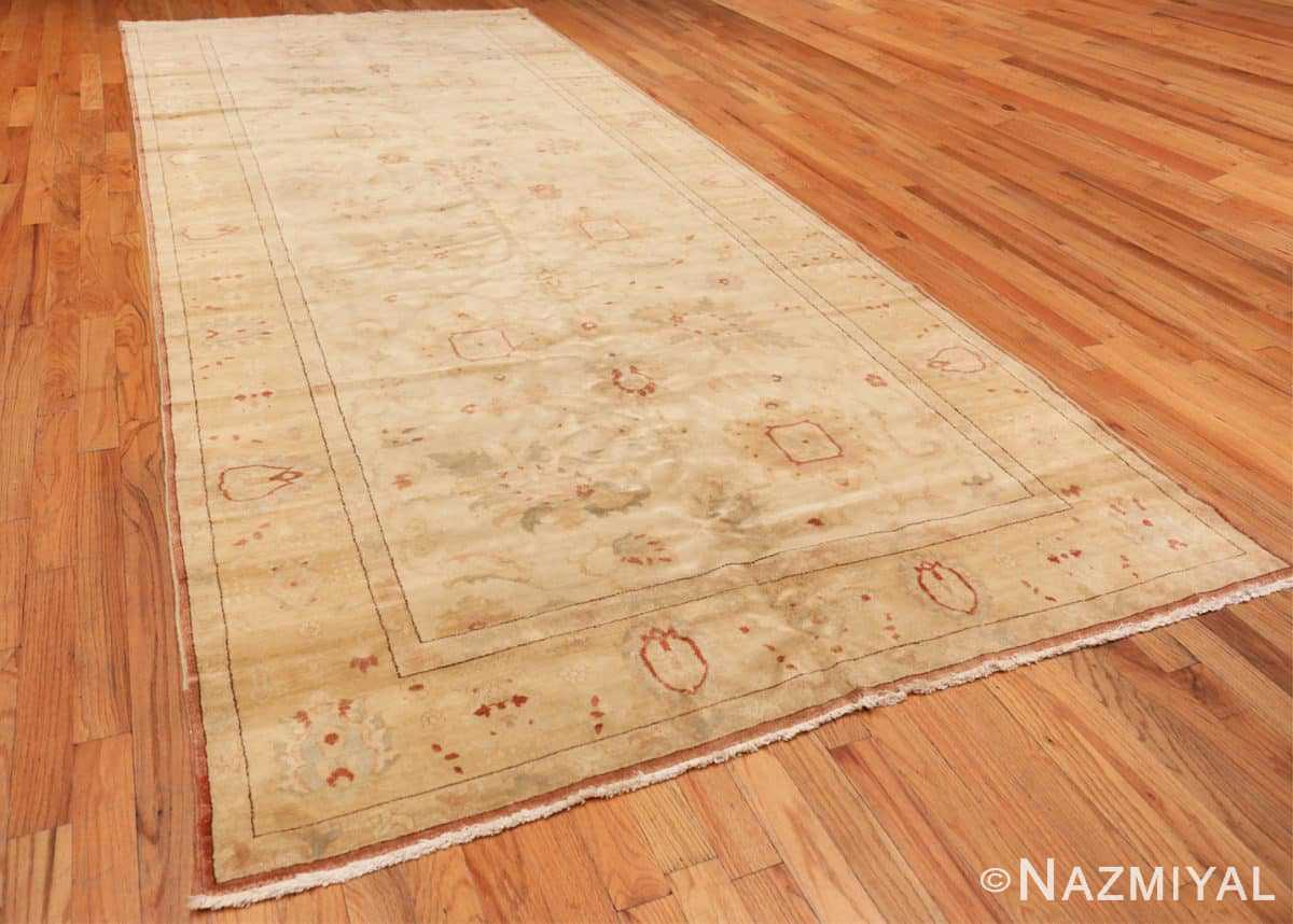 Full Modern gallery size sultanabad wide hallway runner rug 44684 by Nazmiyal