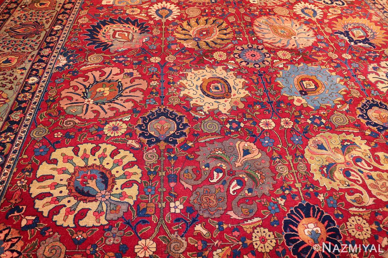 large antique vase design persian tabriz rug 49196 design Nazmiyal