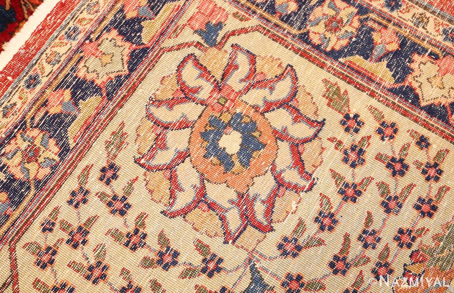 large antique vase design persian tabriz rug 49196 weave Nazmiyal