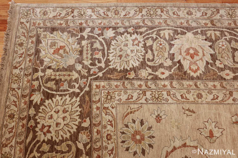 large modern contemporary tabriz design egyptian rug 41126 corner Nazmiyal