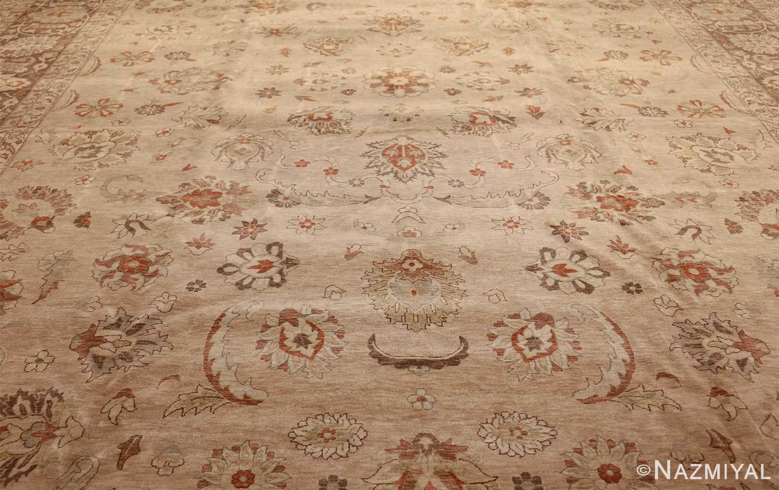 large modern contemporary tabriz design egyptian rug 41126 field Nazmiyal