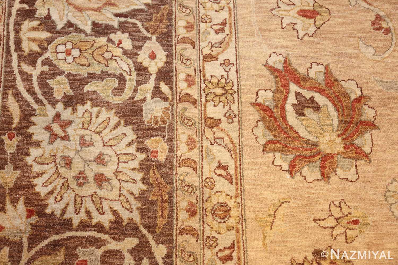large modern contemporary tabriz design egyptian rug 41126 side Nazmiyal