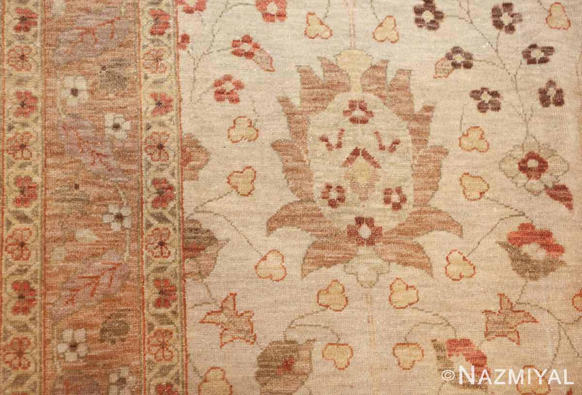 large persian tabriz design egyptian modern rug 41132 side Nazmiyal