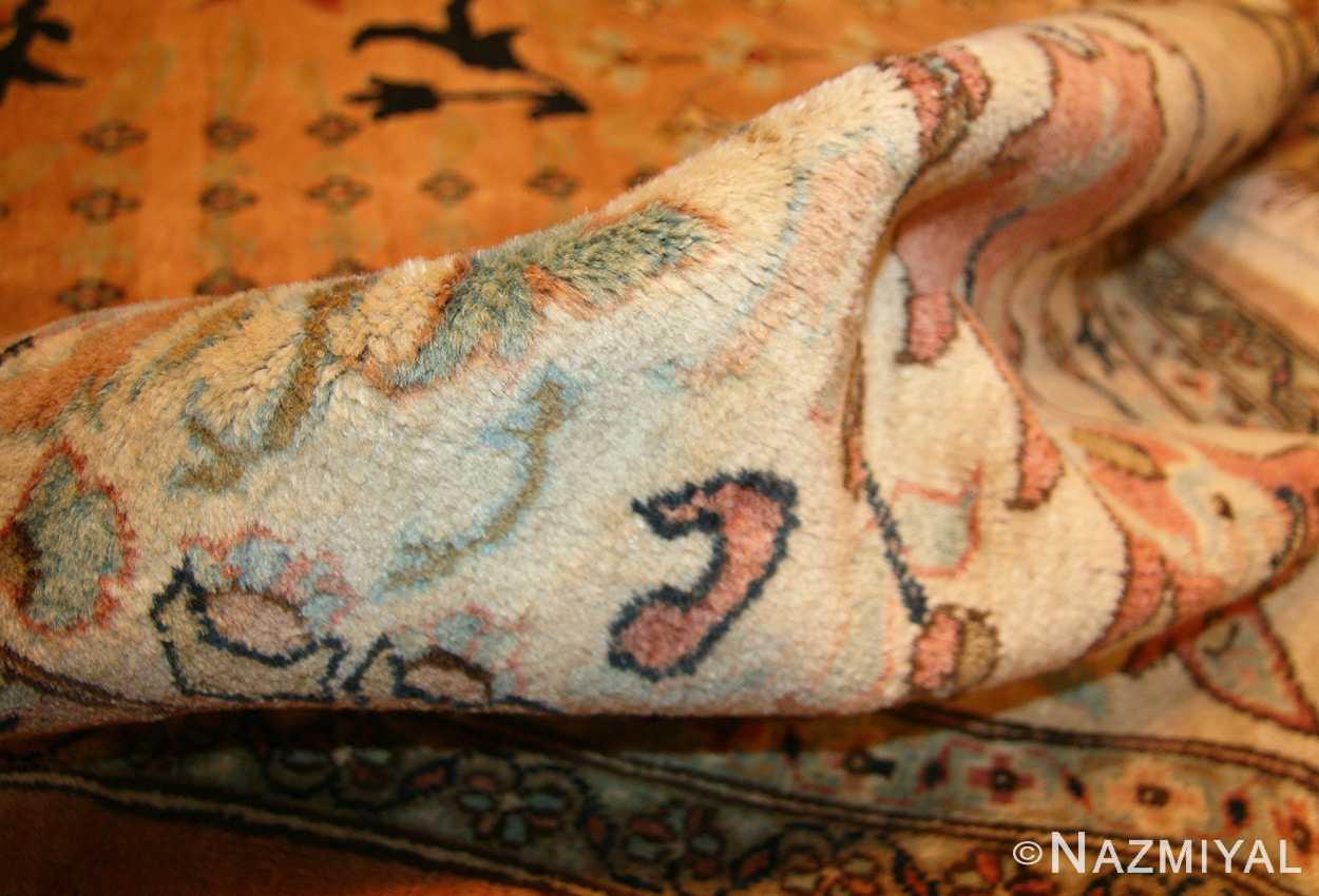 large room size vintage indian agra rug 49186 pile Nazmiyal