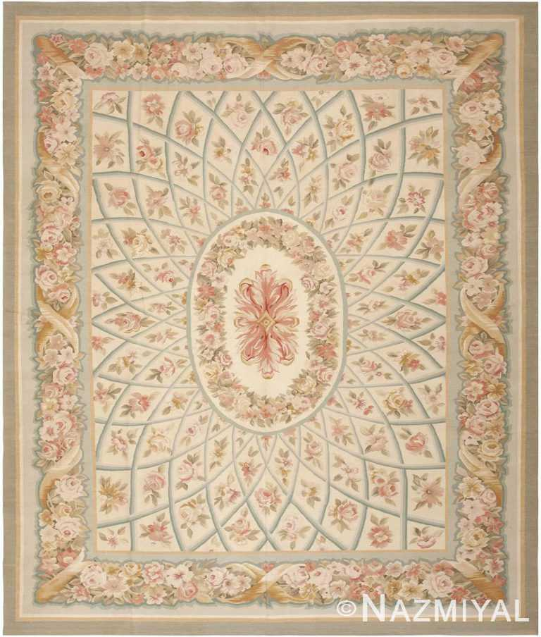Modern Chinese Aubusson Rug #44690 by Nazmiyal Antique Rugs