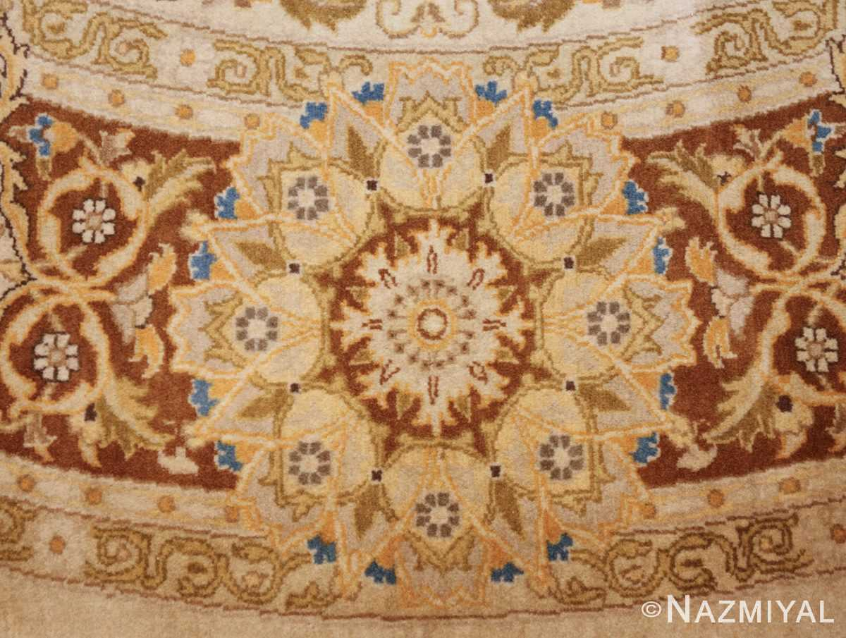 modern persian tabriz design round rug 44674 design Nazmiyal