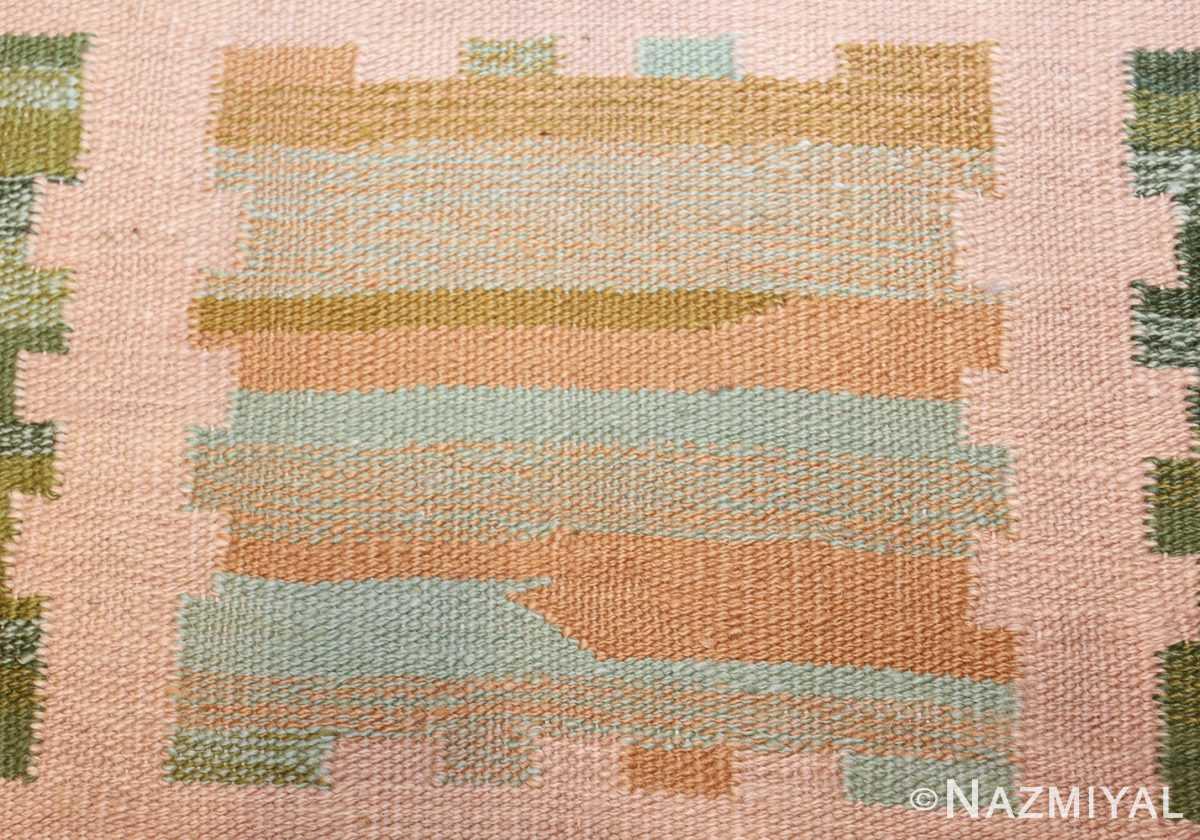 modern swedish scandinavian inspired kilim rug 48760 blue Nazmiyal