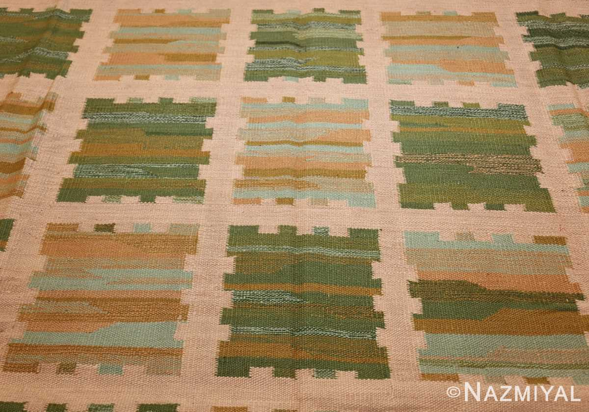 modern swedish scandinavian inspired kilim rug 48760 field Nazmiyal