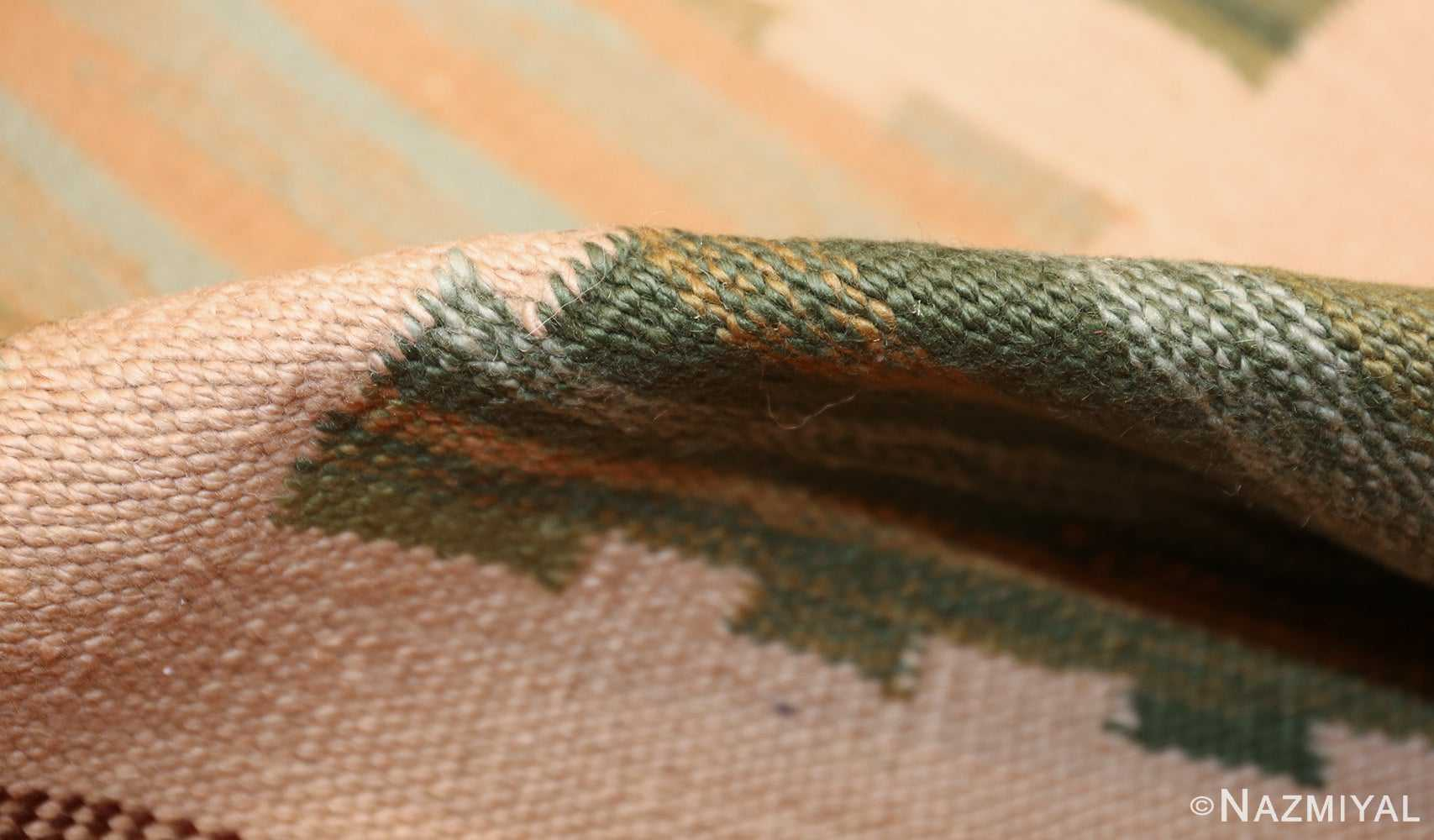 modern swedish scandinavian inspired kilim rug 48760 pile Nazmiyal