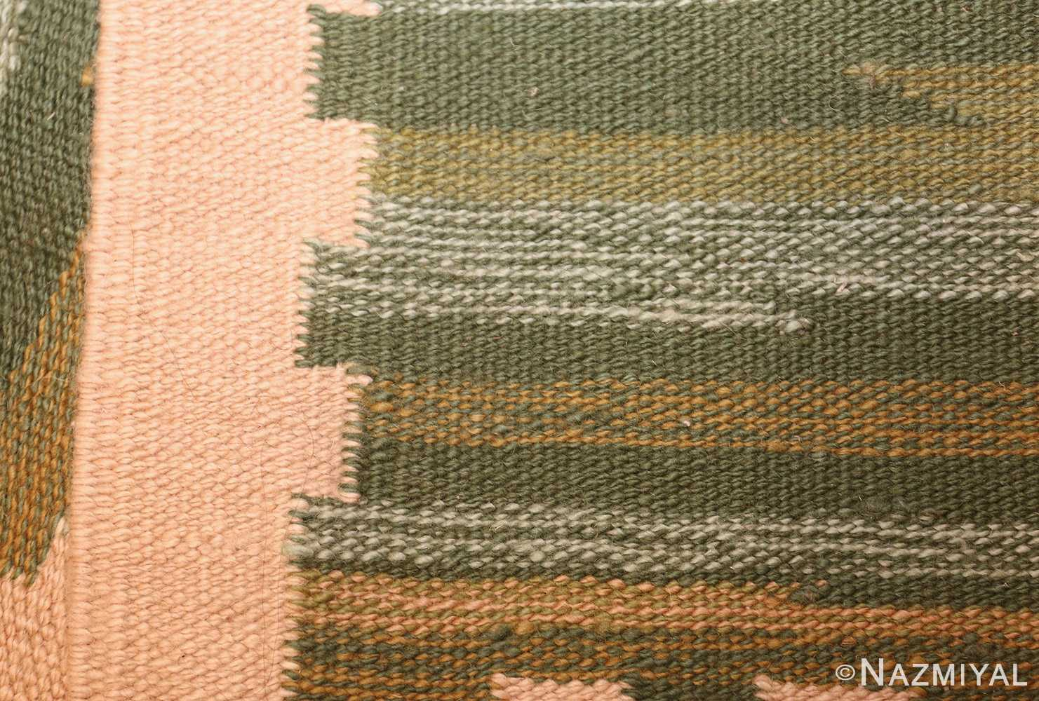 modern swedish scandinavian inspired kilim rug 48760 weave Nazmiyal