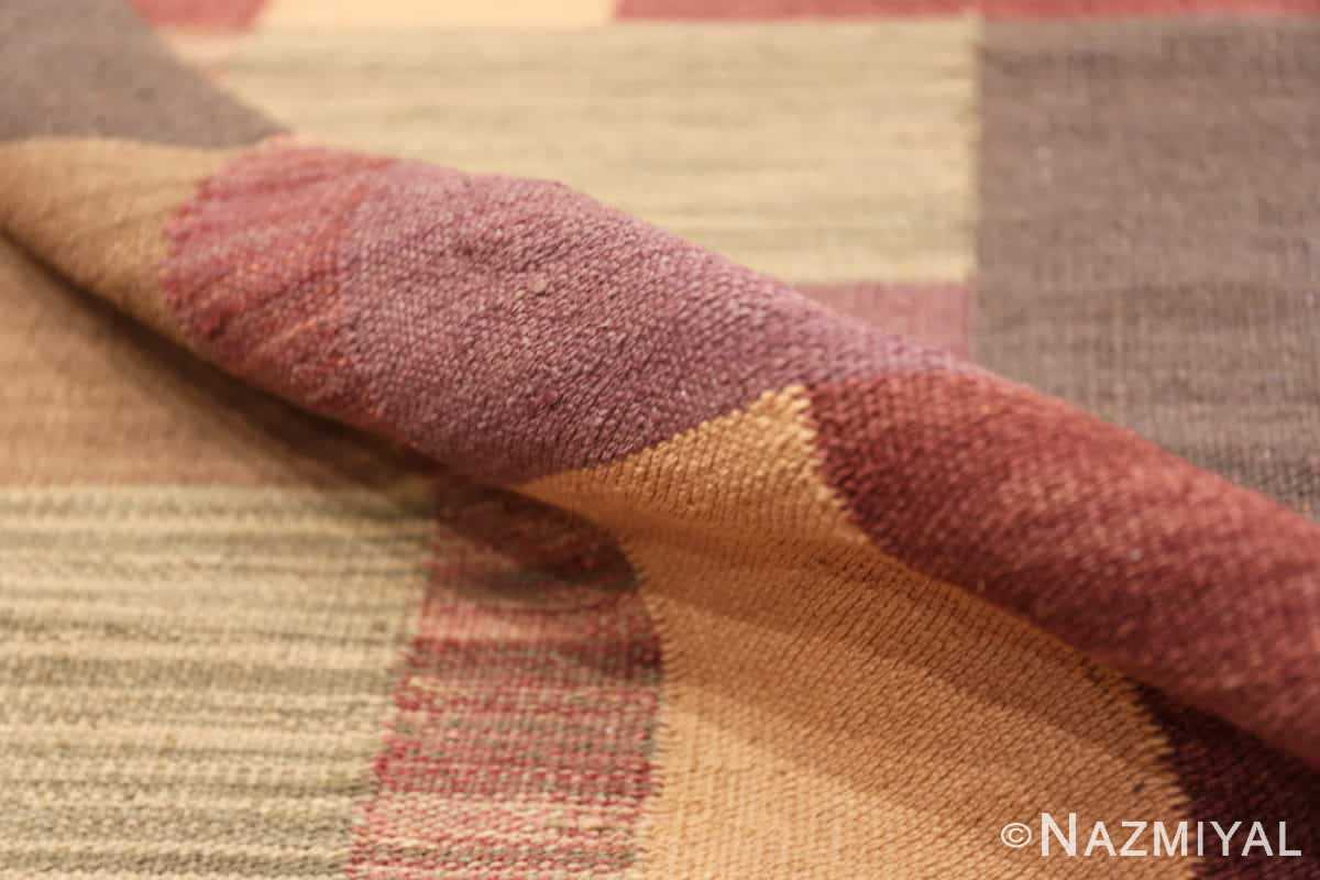 Pile Swedish inspired modern Kilim rug 48478 by Nazmiyal