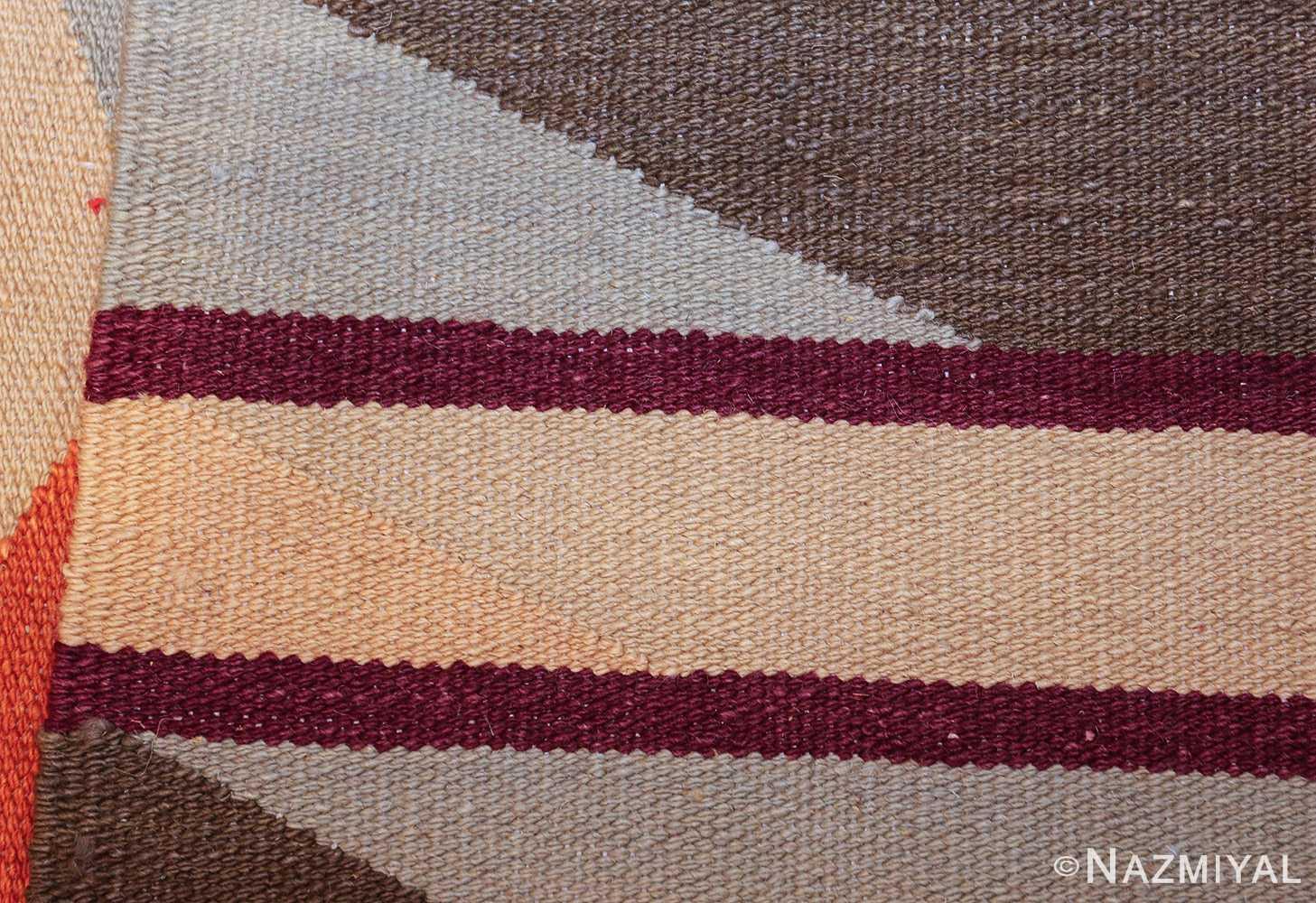 swedish scandinavian inspired modern kilim runner rug 48475 weave Nazmiyal