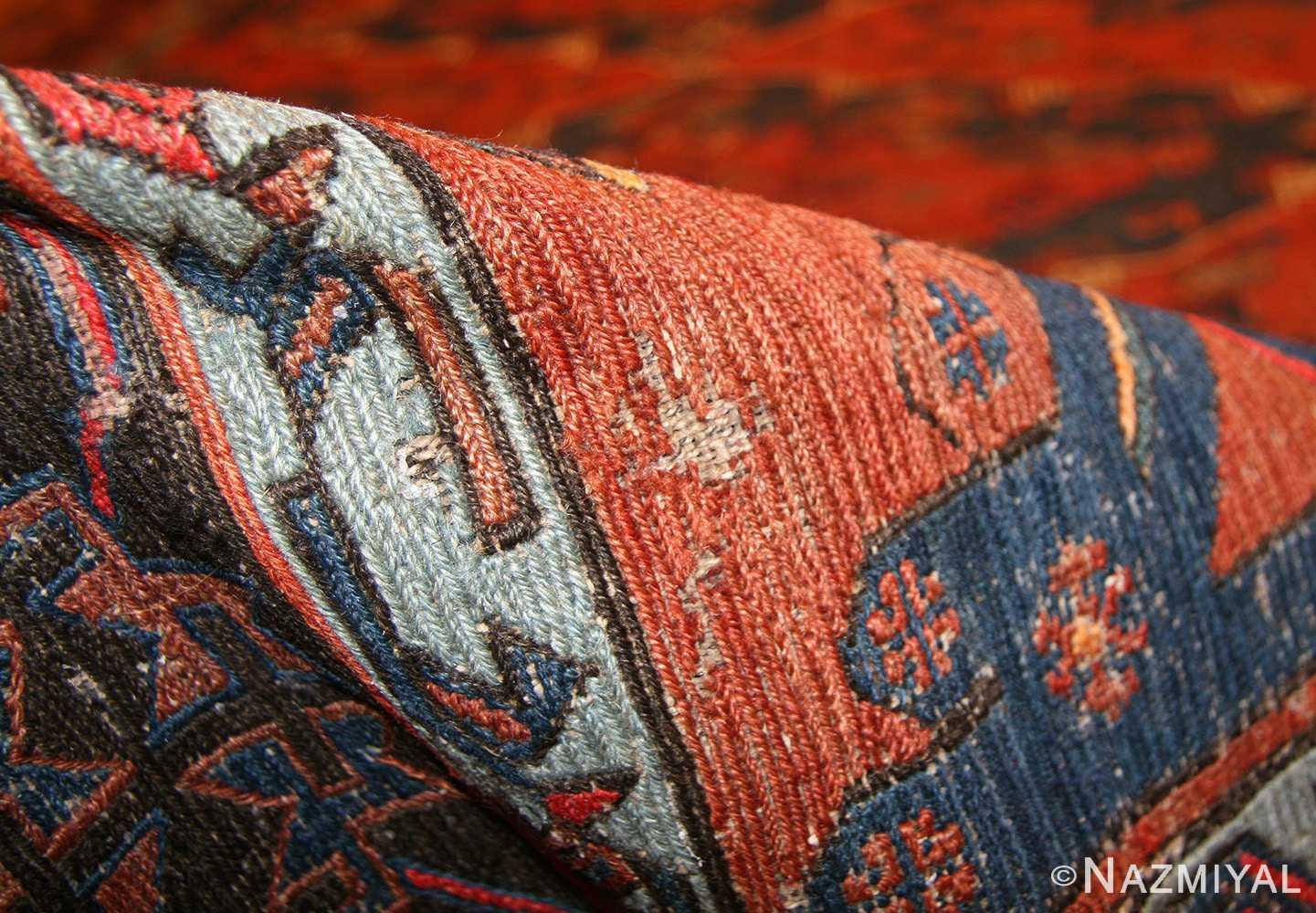 tribal antique caucasian soumak rug 50210 pile Nazmiyal