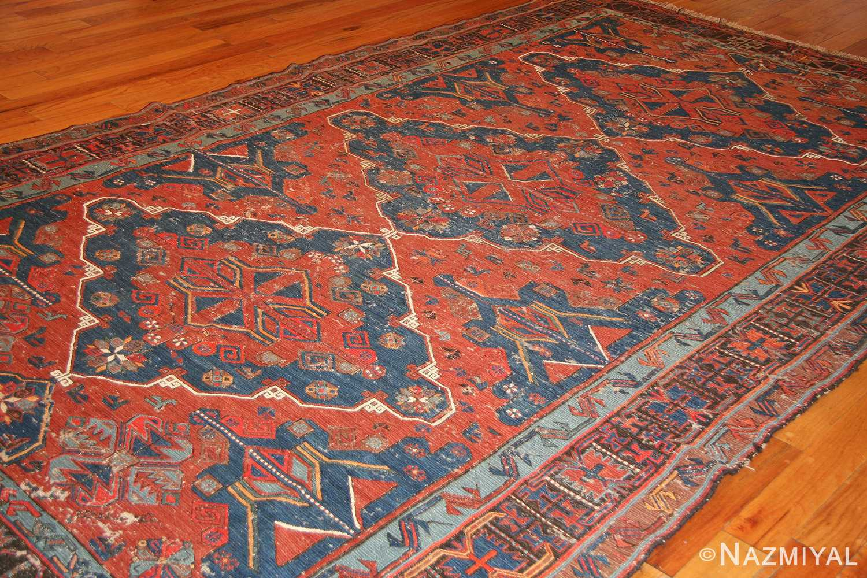 tribal antique caucasian soumak rug 50210 weave Nazmiyal