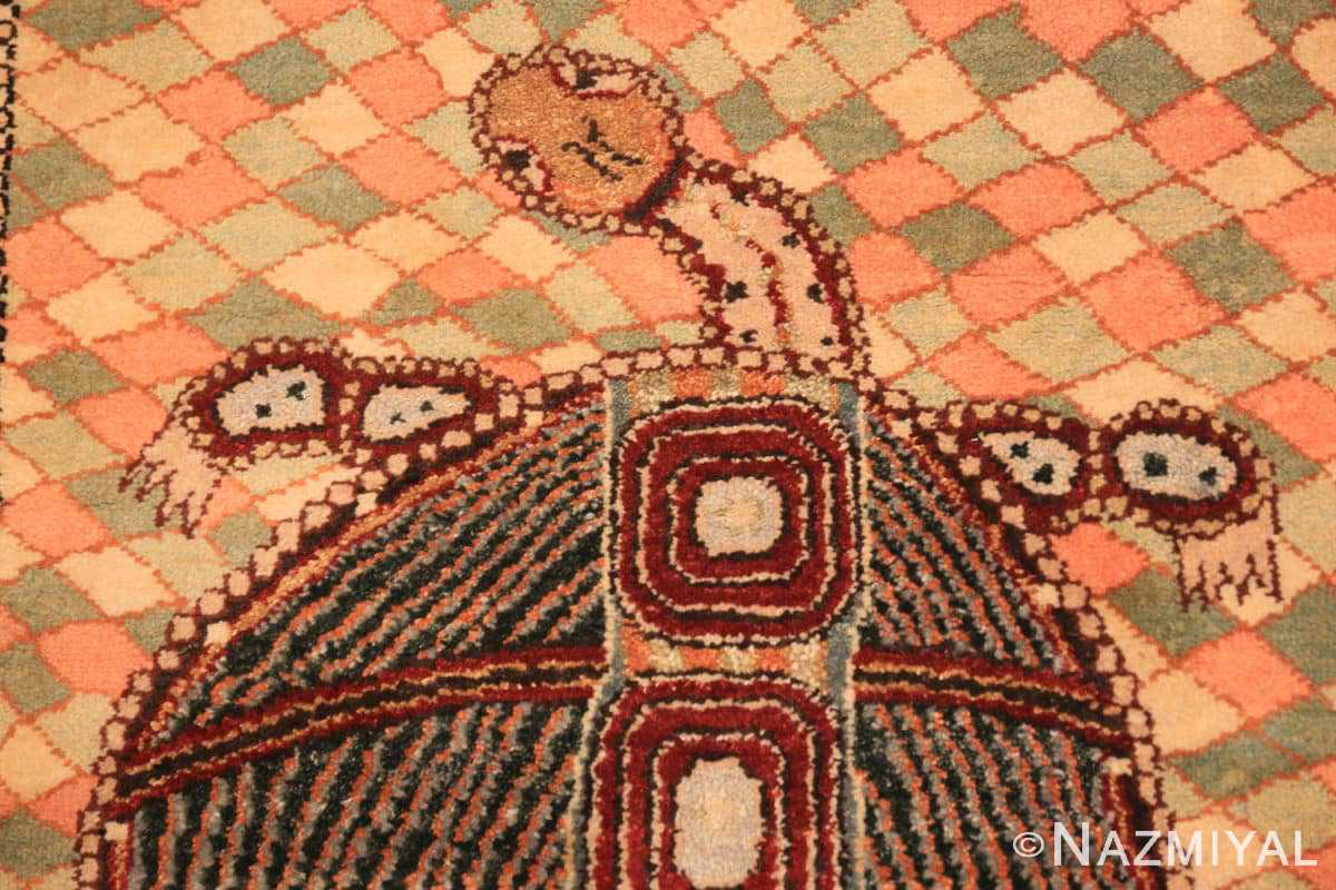 Turtle detail Modern underwater rug 46072 by Nazmiyal