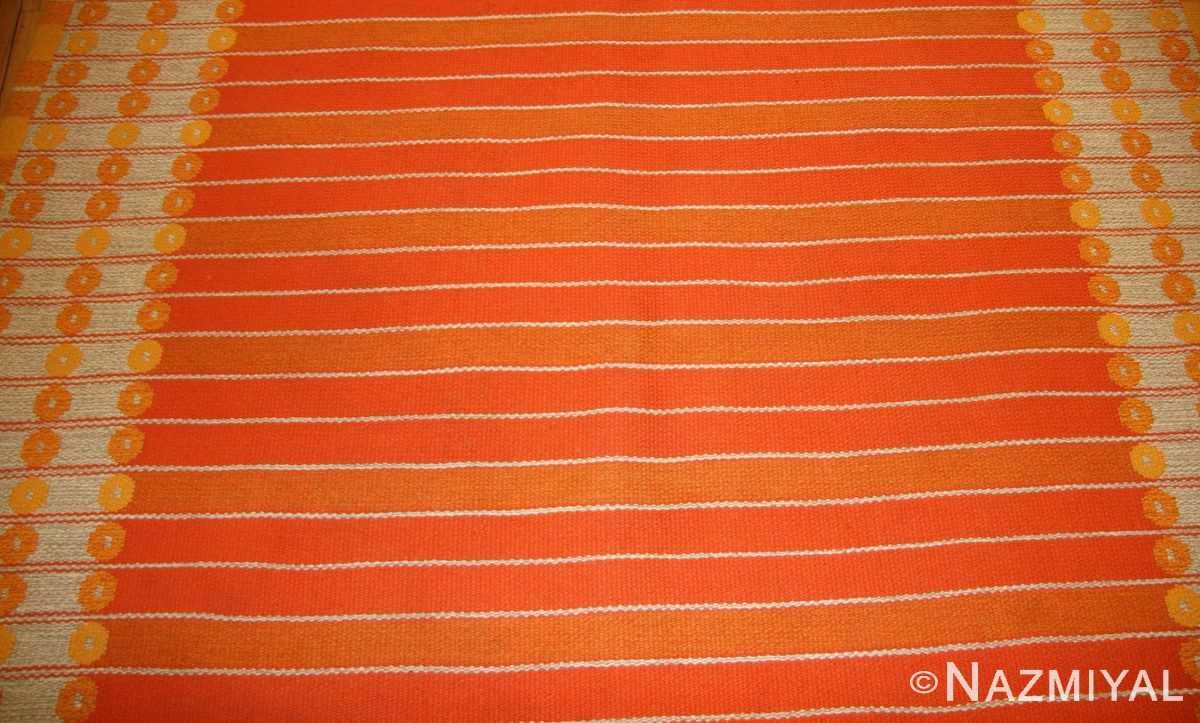 vintage double sided swedish kilim rug by ingrid dessau 49115 back Nazmiyal