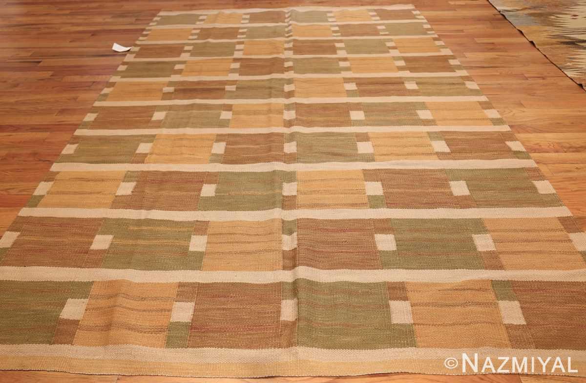 vintage scandinavian inspired modern kilim carpet 48383 whole Nazmiyal