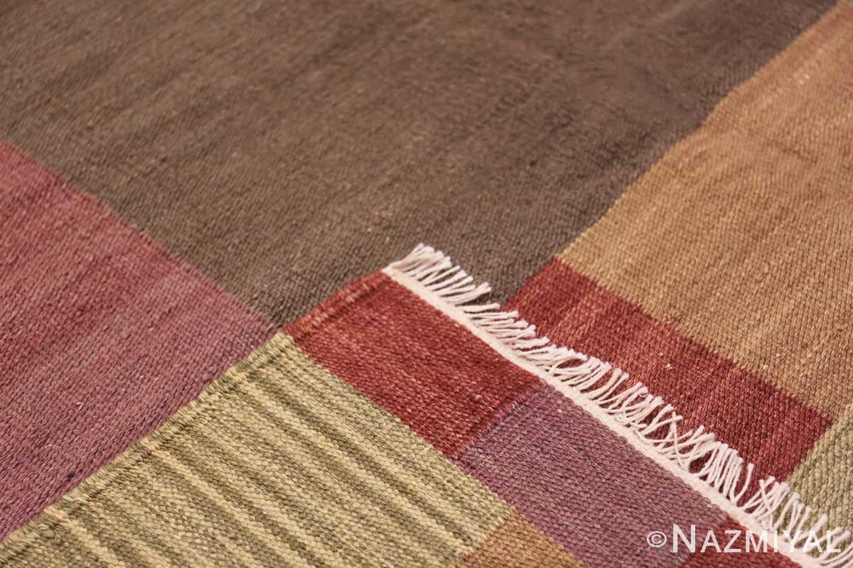 Weave Swedish inspired modern Kilim rug 48478 by Nazmiyal