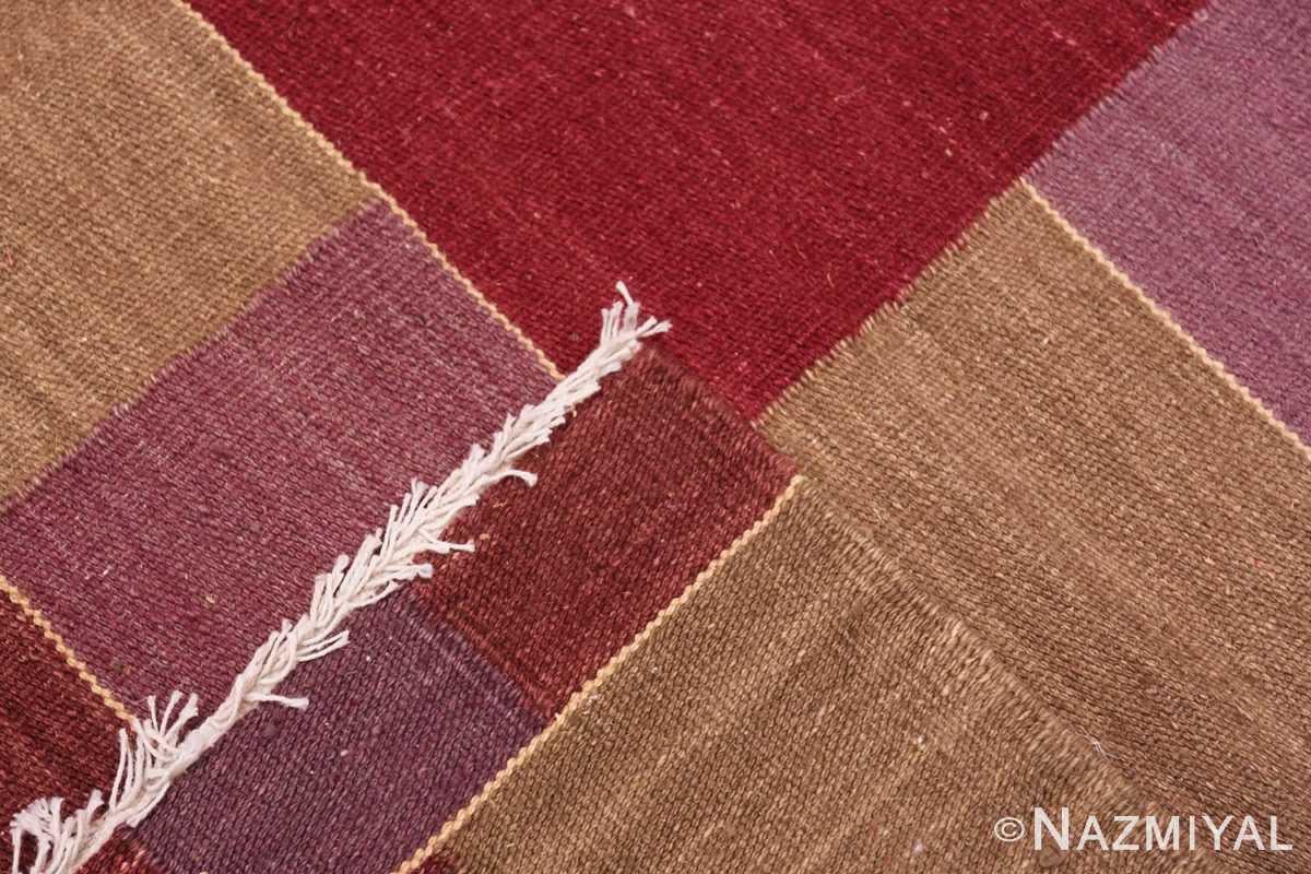 Weave Swedish inspired Scandinavian Modern Kilim carpet 48479 by Nazmiyal