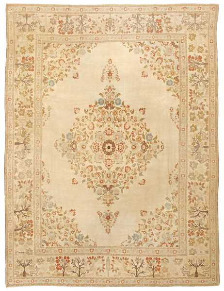 Antique Tabriz Persian Rug, Nazmiyal