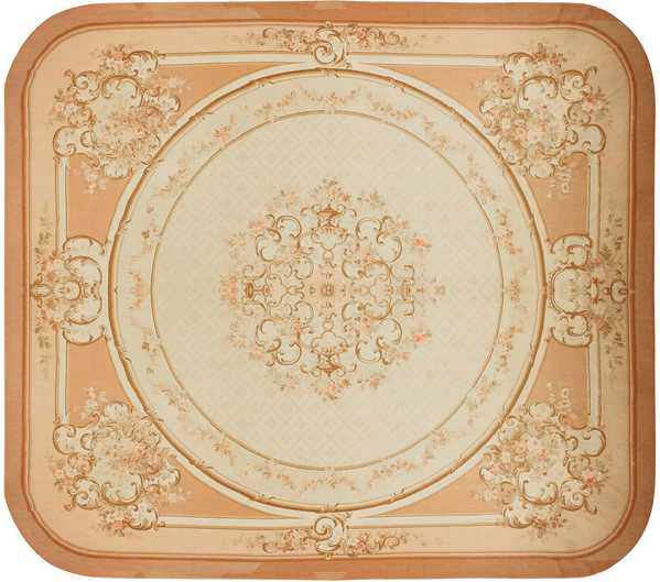 Large Aubusson Antique Rug, Nazmiyal
