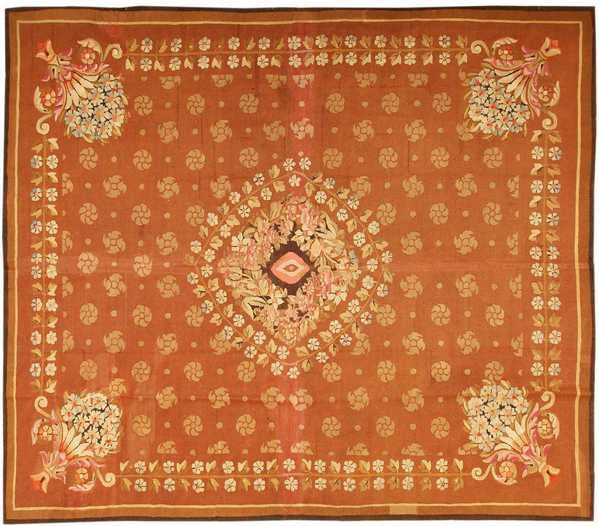 Antique Aubusson Rug, French, Nazmiyal