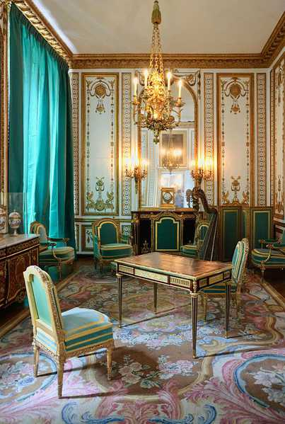 Aubusson Rugs in the Louis XVI interior at Versailles Nazmiyal
