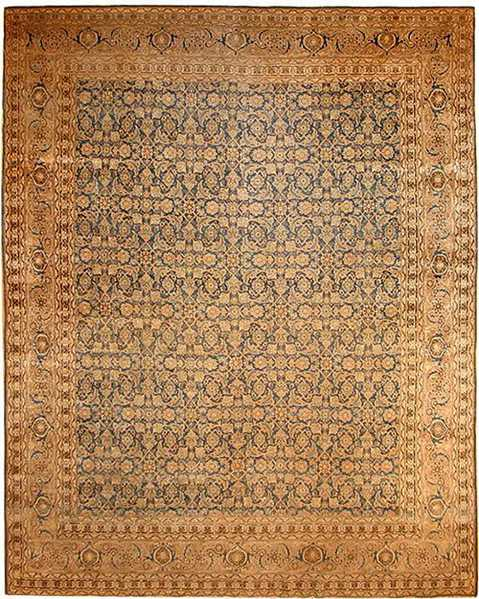 After Oriental Rug Repair by Nazmiyal
