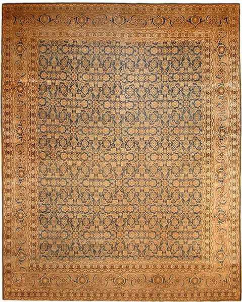After Oriental Rug Repair by Nazmiyal