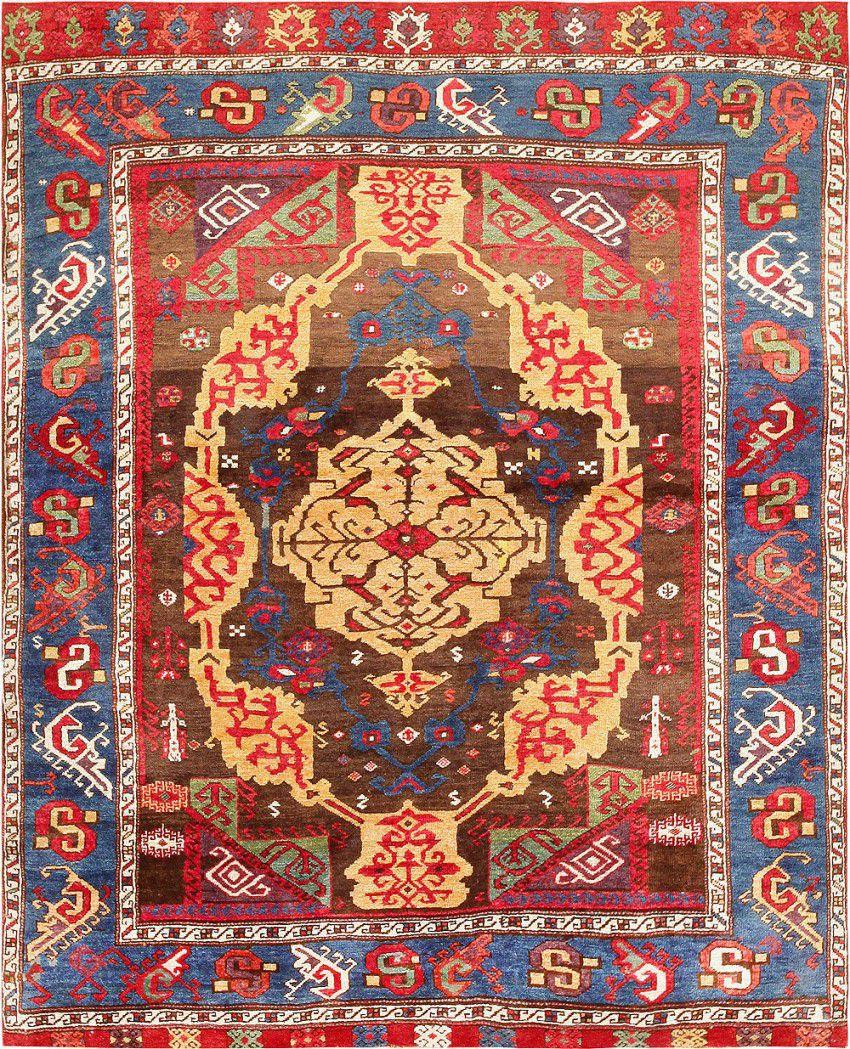 Antique 18th Century Anatolian Rug from James Ballard by Nazmiyal