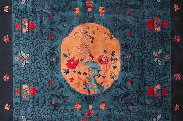 Antique Chinese Rugs by Nazmiyal
