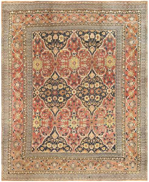 Antique Room Sized Persian Khorassan Carpet, Nazmiyal
