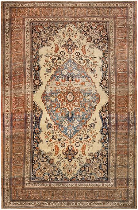 Persian Dining Room Rugs by Nazmiyal