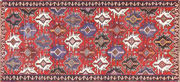 Gallery Size Antique Tribal Turkish Kilim Rug, Nazmiyal