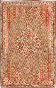 Mahi Design Antique Persian Senneh Kilim 47278 by Nazmiyal