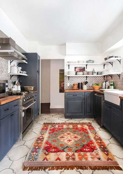 Kilim Rugs for the Kitchen