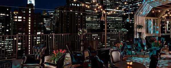 The Rooftop Bar at The NYC Kimberly Hotel by Nazmiyal