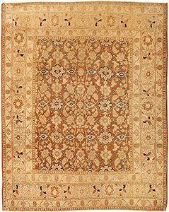 Herati Design Antique Persian Tabriz Rug by Haji Jalili 43503 by Nazmiyal