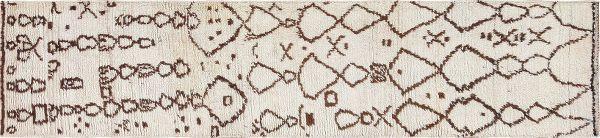 Berber Carpet Runner Rug by Nazmiyal