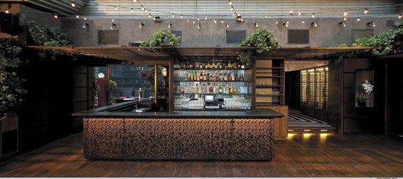 Upstairs Rooftop Bar at the Kimberly Hotel NYC by Nazmiyal