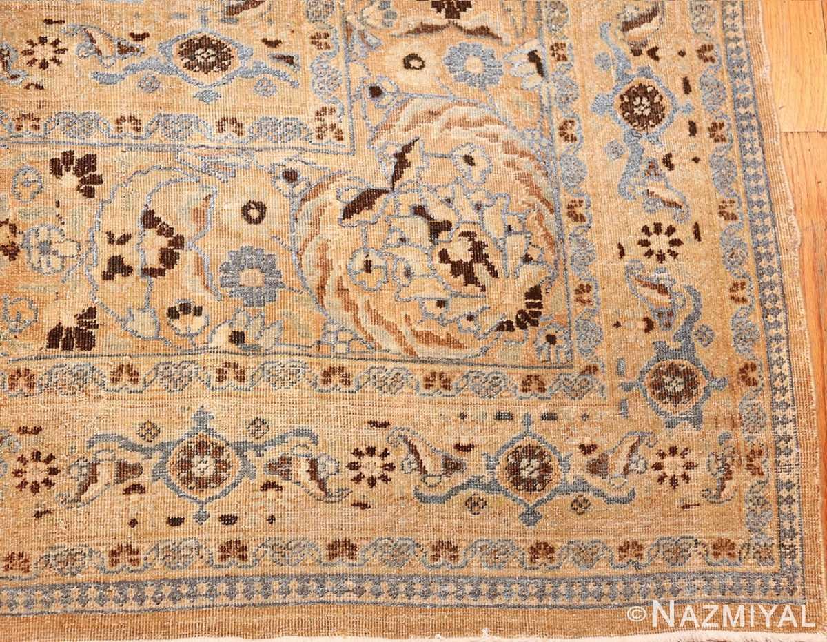 antique floral persian khorasan rug 50128 corner edited Nazmiyal