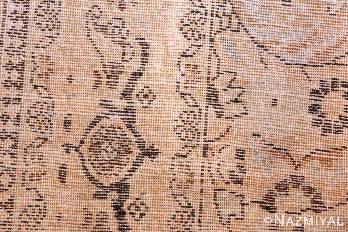 antique floral persian khorasan rug 50128 weave Nazmiyal