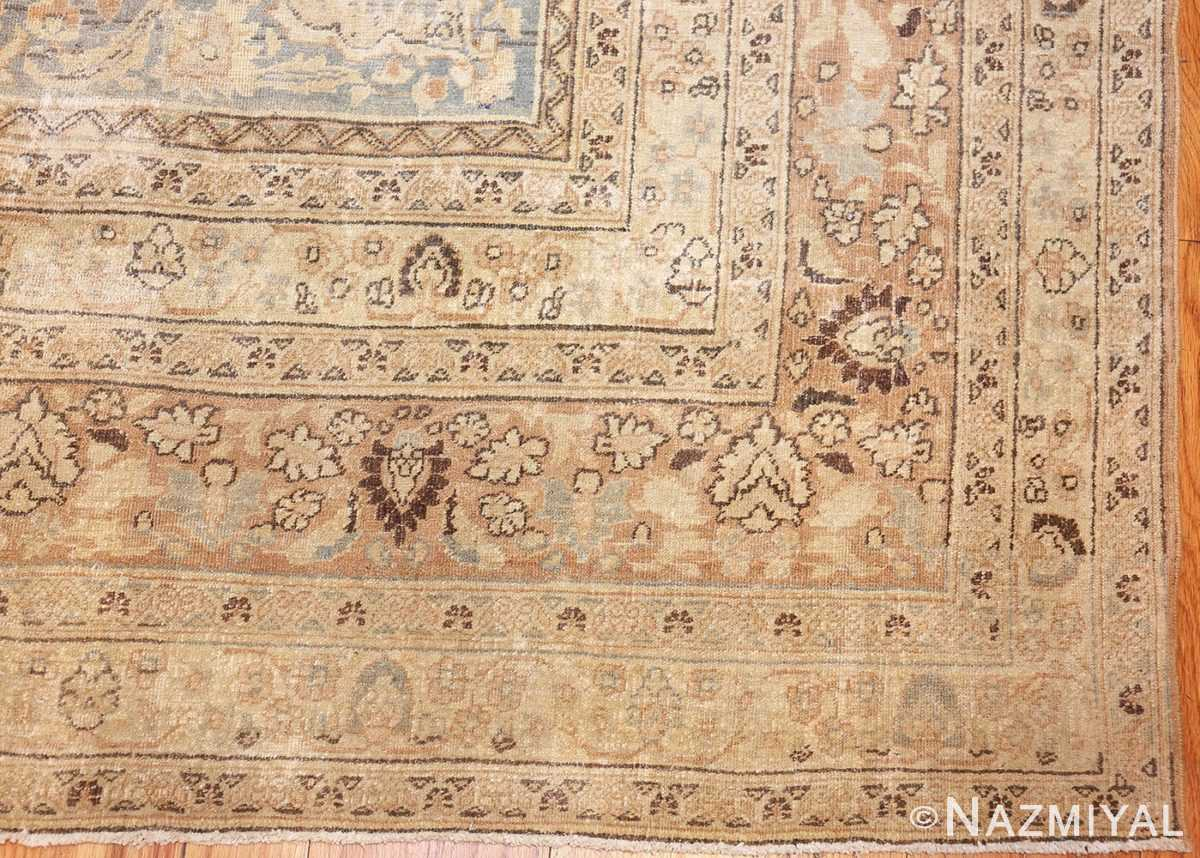 antique floral persian khorassan rug 49210 corner Nazmiyal