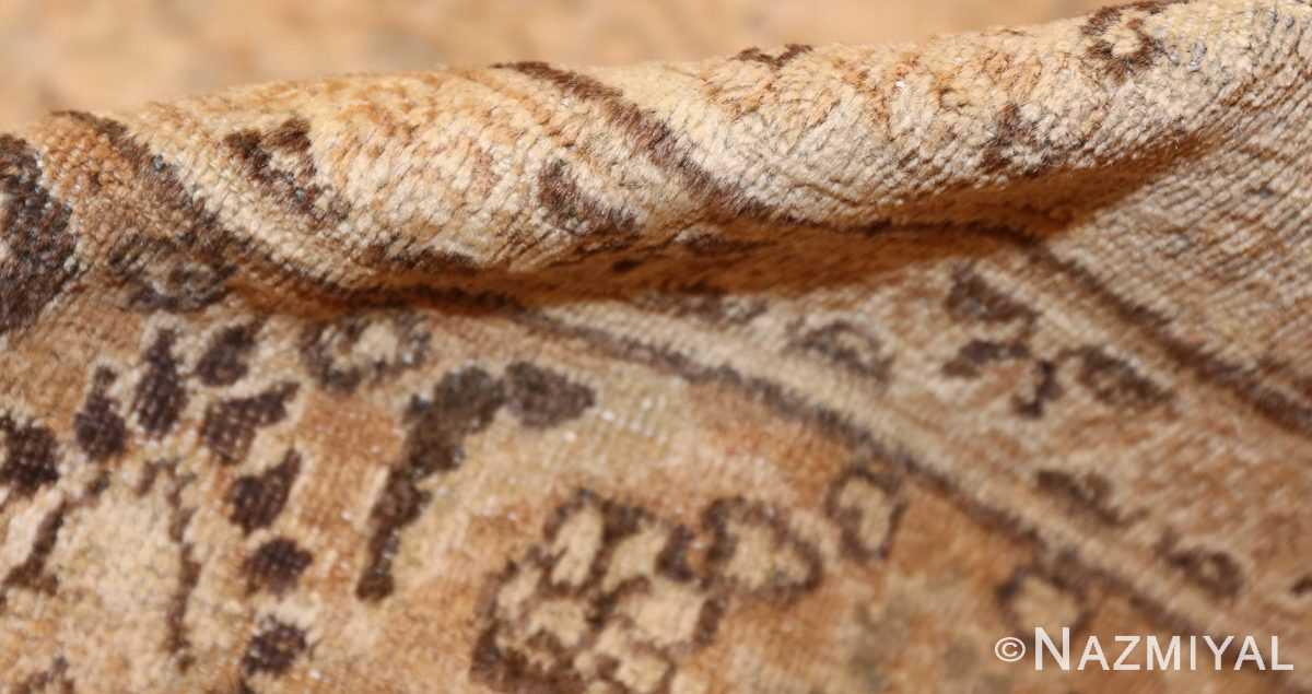 antique floral persian khorassan rug 49210 pile Nazmiyal