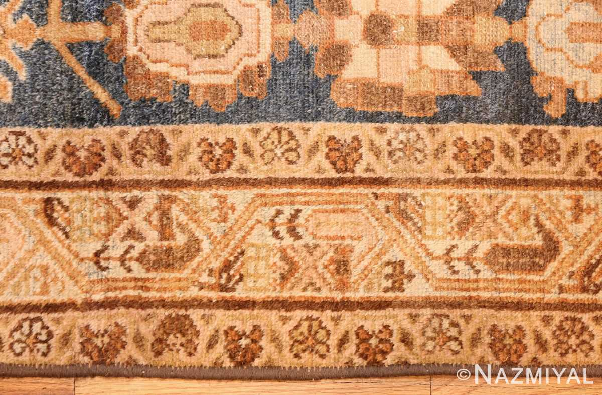 antique navy background persian malayer rug 49221 border Nazmiyal