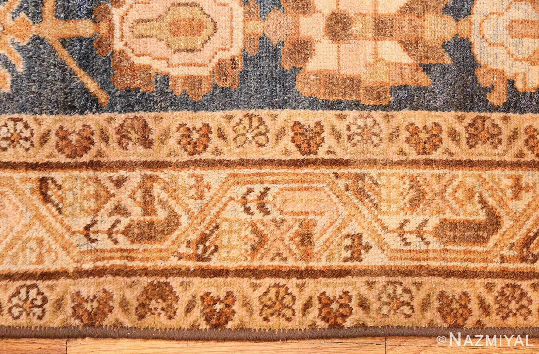 antique navy background persian malayer rug 49221 border Nazmiyal