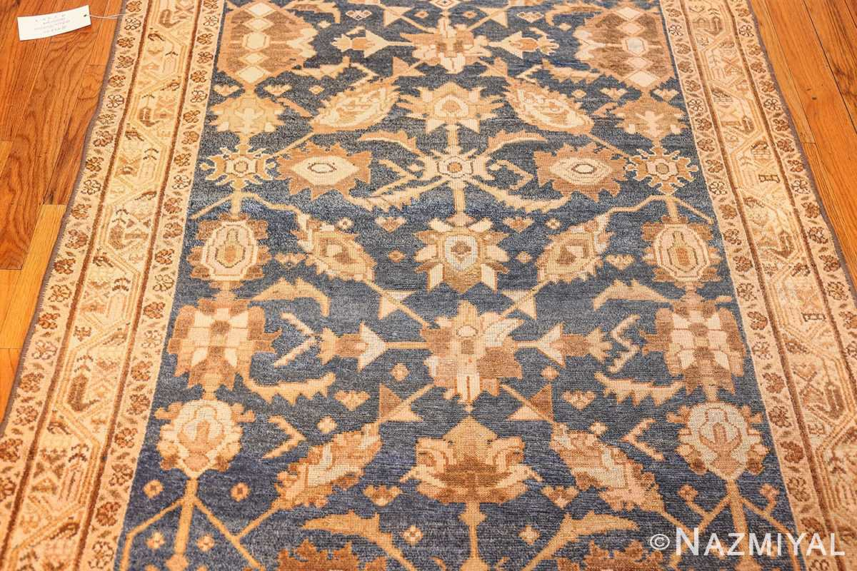 antique navy background persian malayer rug 49221 field Nazmiyal