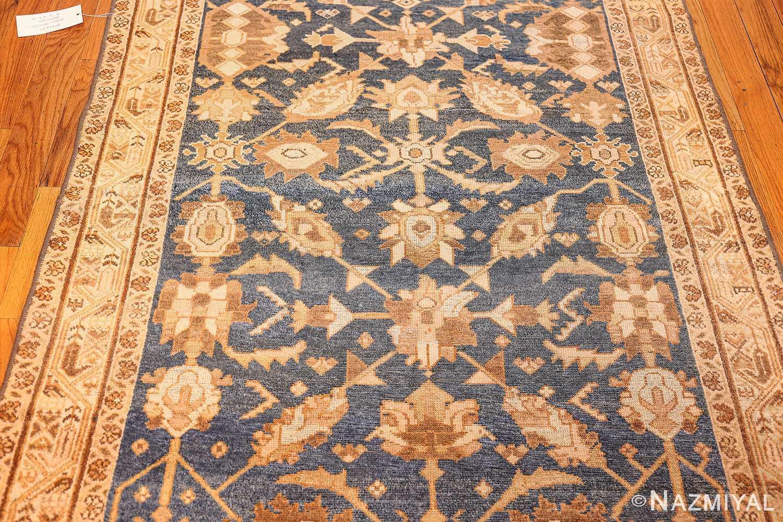 antique navy background persian malayer rug 49221 field Nazmiyal