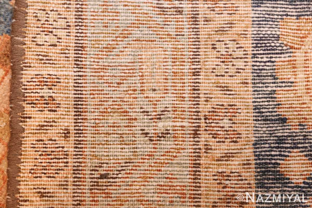 antique navy background persian malayer rug 49221 weave Nazmiyal